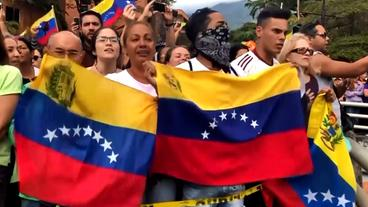 Demonstranten in Venezuela