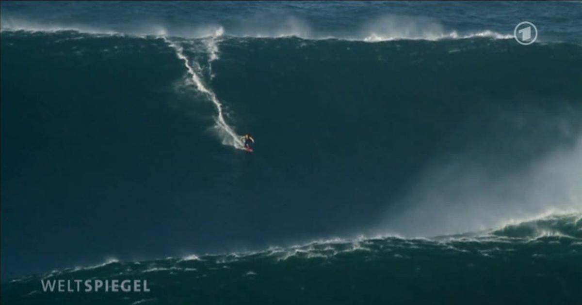Höchste Wellen Portugal