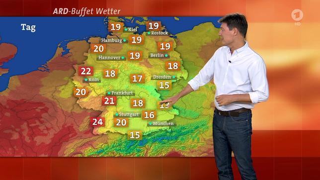 Erste Wetterkarte Tv