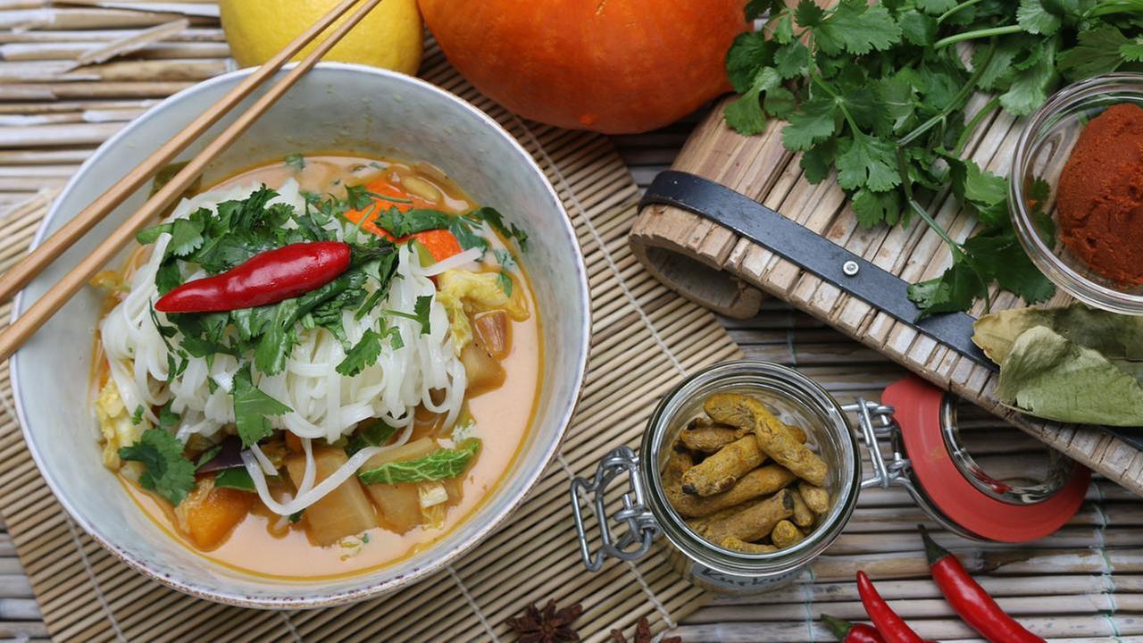kürbis curry rezept
