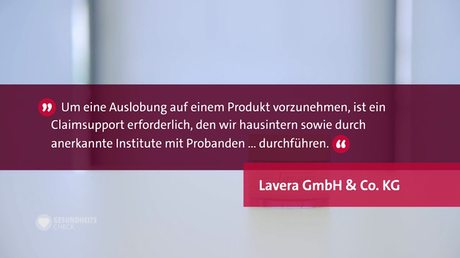 Reaktion der Lavera GmbH & Co. KG