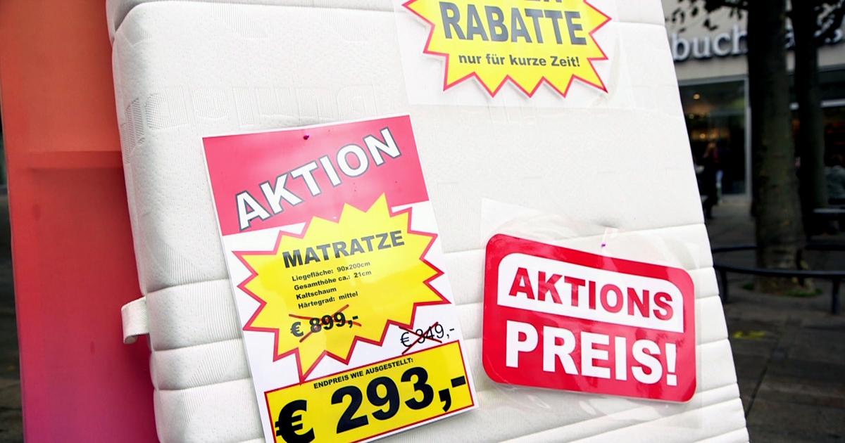 Tricks Der Matratzenhändler Vorsicht Verbraucherfalle Ard