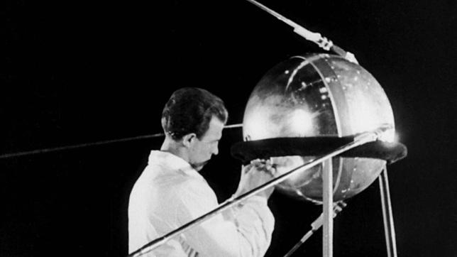 Der Satellit Sputnik