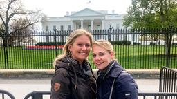 Passagiere Reise fünf: Jana und Eileen in Washington
