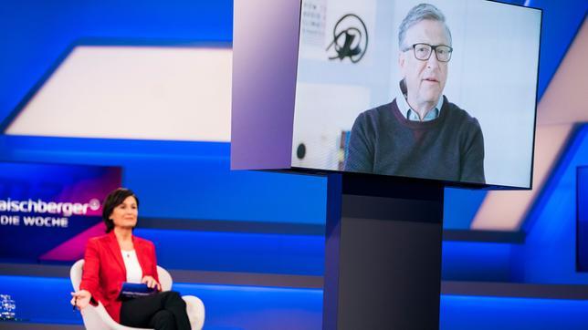 Sandra Maischberger im Gespräch mit Bill Gates