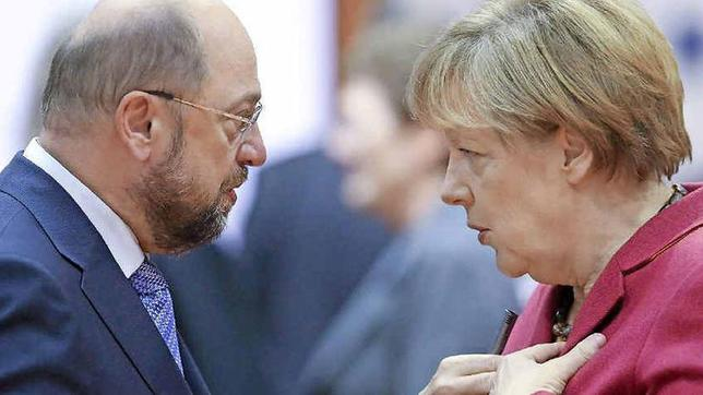 martin schulz und angela merkel - Ulrich Merkel Lebenslauf