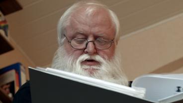 Ulrich Wockelmann vom Verein aufRecht