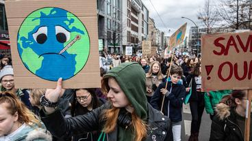 Fridays for Future-Demonstration in Berlin