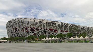 Das Olympiastadium in Peking