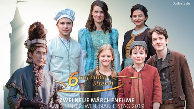 """""""Sechs auf einen Streich"""" - zwei neue Märchenfilme am 1. und 2. Weihnachtstag 2019"""