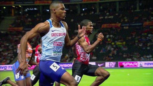 Video 100 M Männer Hughes Nutzt European Championships 2018