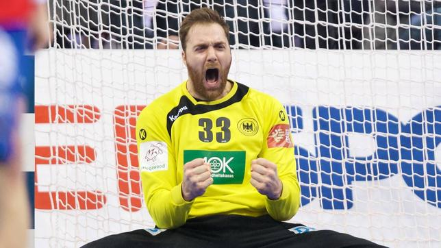Handball-Nationaltorwart Andreas Wolff