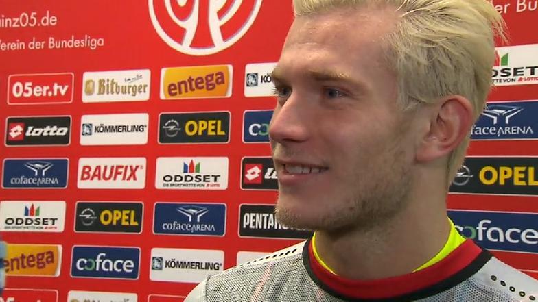 Loris Karius Hat Die Haare Schon Sportschau