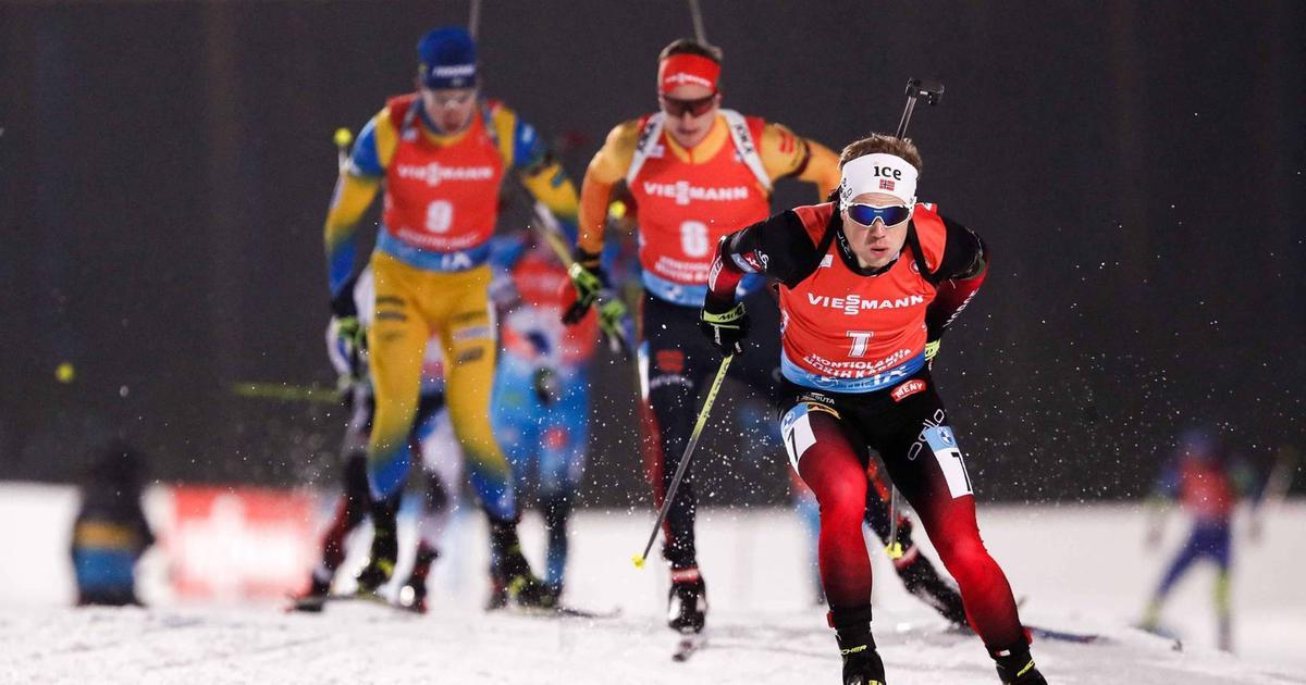 Biathlon Verfolgung Männer