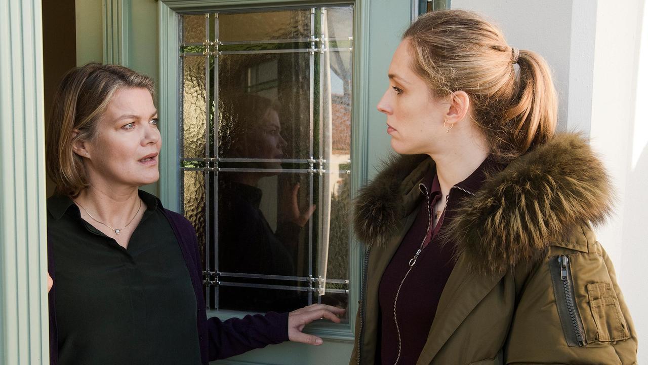 Ellen Norgaard wird von Ilka Bodin nicht zur Tür reingelassen