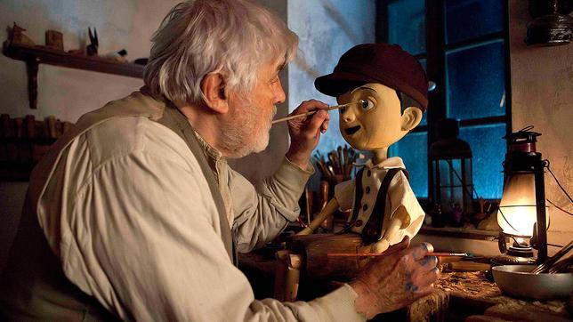 Geppetto und Pinocchio
