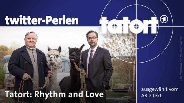 "Twitter-Perlen zu ""Rhythm and Love"""