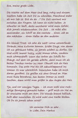 Fünfter Brief: Haialarm - Sturm der Liebe - ARD | Das Erste
