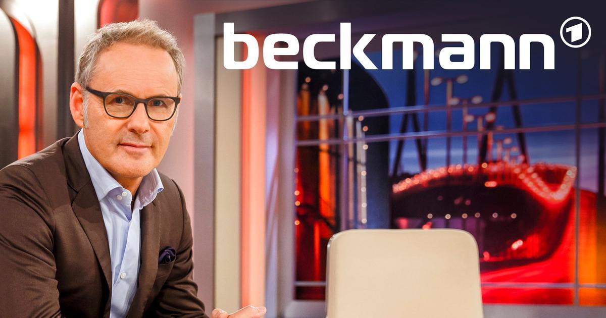 beckmann beckmann der talk ard das erste. Black Bedroom Furniture Sets. Home Design Ideas